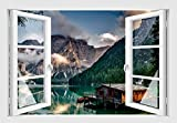 Skins4u Italien Wandtattoo Wandaufkleber Wandsticker Wandbild Farbe bunt Druck Sk7034 Größe 60cm x 40