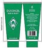 Werder Bremen SV Duschgel Shampoo Hair und Body 200 ml, 3020233