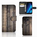 B2Ctelecom Handyhüllen für Samsung Galaxy A5 2017 Handyhülle Gerüst Holz Männer