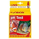 sera 04310 pH Test ein Wassertest für 100 Messungen, misst zuverlässig und genau den pH-Wert für Süß- & Meerwasser, im Aquarium oder T
