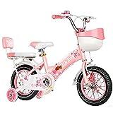 Lqdp Laufräder Laufrad Laufrad 4 Jahre alt, 12 Zoll Kleinkinderfahrrad mit verstellbarem Sitz, Einräder für Jungen/Mädchen Geburtstagsgeschenk