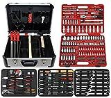 Famex Werkzeug 716-21 Mechaniker Werkzeugkoffer mit Top-Werkzeugbestückung, mit 174-teiligem Steckschlüsselsatz