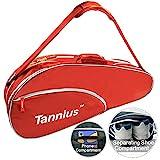 Tannius Tennistasche für 3 Schläger, Rot