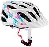 ALPINA Unisex - Kinder, FB JR. 2.0 Fahrradhelm, white butterfly, 50-55 cm