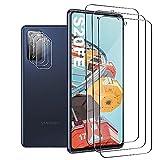 JingHuier Panzerglas Schutzfolie für Galaxy S20 FE, [3 Stück] [HD Clear] [9H Härte] [Fingerabdrucksensor Kompatible] HD Displayschutzfolie für Samsung Galaxy S20 FE