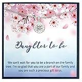 Grace of Pearl Geschenk für die zukünftige Schwiegertochter, Geschenk für Sohn, Verlobte, Schwiegertochter, Hochzeitsgeschenk für Schwiegertochter