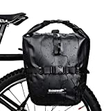 GepäCkträGer Taschen FüR Fahrrad Fahrradtasche Wasserdicht Fahrradtaschen Für Hinten Mountainbike-Zubehör Fahrradzubehör Fahrradzubehör Black,Free Size