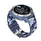 Huawei Honor Watch Gs Pro Smartwatch Männer GPS 100+ Sportmodi Bluetooth-anrufe,14 Militärische Standards, Fitness Tracker Mit 25 Tage Akku,herzfrequenzmesser, Spo2-monitor (Camo Blue)
