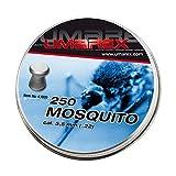 Umarex Premium Mosquito Flachkopf-Diabolo Luftgewehrkugeln Diabolos für Luftdruckwaffen, Luftgewehr und Luftpistole Preiswerte Trainingsmunition 5,5mm