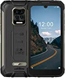DOOGEE S59 Pro Outdoor Smartphone Ohne Vertrag, 10050mAh 4GB + 128GB Outdoor Handy 2W Lautsprecher 16MP Kamera, 5,71' Zoll Wasserdichtes Telefon mit 4G Dual SIM, Face Fingerprint, NFC/GPS(Schwarz)