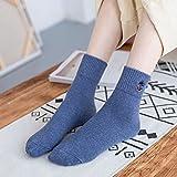 fansheng Zufällige Farbe Frauen Gestickte Socken, 4 Paare Knöchel Lustige Socken Frauen Baumwolle Sommer Knöchelsocken