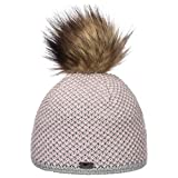 Eisbär Damen Mütze Sanja Lux MÜ, hellgrau-rosa/real, 30678, Einheitsgröße