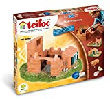 Teifoc TEI 8010 Steinbaukästen-Konstruktionsspielzeug-Variation-3 Pläne, Multi Color, Baukasten - Bauen Sie mit echten Ziegeln und Z