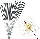 TK Gruppe Timo Klingler 240x Wunderkerzen 18 cm - Sternspritzer für Partys & Feuerwerk Silvester Kat. F1 für Jugendlichen & Kinder Jugendfeuerwerk 2021 (240x)