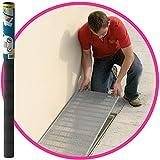 Easy Life Aluminium Gitter 60 x 120 cm greenLINE Aktion für Lichtschächte Lichtschachtabdeckung Alu-Gewebe Kellerschachtabdeckung