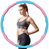 AniWorld Fitness Hula Hoops für Erwachsene und Kinder, 6-8 Segmente Abnehmbares Gewichtsverlust Werkzeug für Fitness/Sport/Zuhause/Büro/Bauchformung