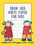 Draw and write paper for kids blank dotted lined notebooks: Primary story journal grades k-2. Early Creative Story Book for Kids. Draw and write ... Pages. Funny drawn boy and girl on the cover.