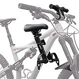 LINFKY Kombipack Für Kinderfahrradsitz Und Lenkerzubehör - Komplettset   Vorne Montierte Fahrradsitze Für Kinder Von 2 Bis 5 Jahren (bis Zu 48 Pfund)   Kompatibel Mit All Adult MTB