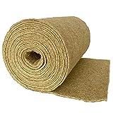 Nager-Teppich aus 100 % Hanf, 0,70 m x 5 m x 0,5 cm dick (EUR 6,83/m²), 600g/m², Nagermatte geeignet als Käfig Bodenbedeckung z.B. für Kaninchen, Meerschweinchen,Hamster und andere Nagetiere