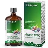 Röhnfried Vitamin ADEC 100 ml | Vitaminkonzentrat | Futterergänzungsmittel für die Vitaminversorgung von Hühnern, Tauben & Geflüg