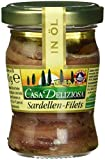 Casa Deliziosa Sardellenfilets gestreckt in Öl (1 x 90 g)