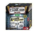 Noris 606101546 - Escape Room (Grundspiel) - Familien und Gesellschaftsspiel für Erwachsene, inkl. 4 Fällen und Chrono Decoder, ab 16 Jahren