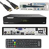 Edision Piccollo S2+T2/C Full HD Satelliten-Kabel-Receiver FTA HDTV DVB-S2/C/T2 (HDMI, AV, USB 2.0,Display,CA,CI,LAN) Deutsch vorprammiert inkl.Wlanabel und HDMI Kab