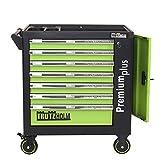 TrutzHolm® Werkstattwagen Premium XXL leer Werkzeugwagen robust & vielseitig einsetzbar