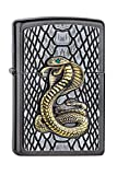 Zippo Feuerzeug Kobra New NEW-28378-Zippo Collection 2019-2005928-69,95 €, Silber, smal