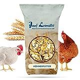 Leimüller Hühnerfutter   Körnerfutter für Hühner GVO - Gentechnik frei   6-Korn Geflügelfutter mehrfach gereinigt und staub