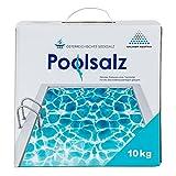 Salinen Austria 10 x POOLSALZ 10kg im Karton für Salzwasser-Pool & Schwimmbad I hochreines Siedesalz, 99,9% NaCI ohne Trennmittel I schnell löslich, für alle Salz-Elektrolyseanlagen/Chlorinatoren