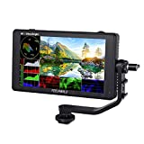 Feelworld LUT6 6-Zoll-DSLR-Kamera-Feldmonitor Touchscreen-Monitor mit 2600-nit-HDR / 3D-LUT-Wellenform VectorScope-Histogramm 1920 x 1080 IPS 4K HDMI-Eingang Ausgang
