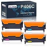 OfficeWorld Kompatibel Toner 406S CLT-406S CLT-P406C CLT-K406S P406S für Samsung Xpress C460W C460FW C410W C460 CLX-3305 CLX-3300 CLX-3305FN CLX-3305W CLX-3305FW CLP-365 CLP-365W CLP-360 CLP-360N