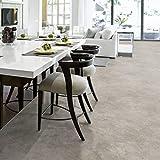 PVC Bodenbelag Beton Stein Grau Tarkett 260D Rock Grey Black   Schallreduzierend & hoher Gehkomfort (Musterstück DIN A4)