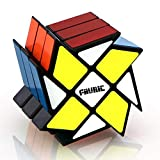 FAVNIC Magic Cube Fenghuolun 3x3, Magic Puzzle Cube Smooth 3D Puzzle Cube Brain Teasers Educational Toy Christmas Stocking Fillers for Kids Boys Girls Fluctuation Angle Puzzle Cube…