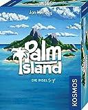 KOSMOS 741716 - Palm Island, Die Insel to go, Spielt sich bequem in einer Hand, Kartenspiel für 1 bis 2 Spieler ab 10 J
