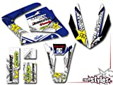race-styles Aufkleber kompatibel mit Yamaha DT 125 R RE X (2009-2017) Premium Factory DEKOR Decals Sticker Aufkleber KIT
