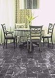 PVC Bodenbelag in mattem Fliesen Mix (9,95€/m²), Zuschnitt (2m breit, 5m lang)