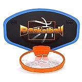 Hängende Aufnahme des Basketballkorbs der Kinder im Innenbereich,Basketballkorb fürs Zimmer Mini Basketball Kinder Sport Outdoor Indoor Basketballkorb Spielzeug