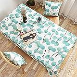 Csuper Nordic Minimalist Leaf Geometrische Figur Tischdecke Europäischer Esstisch Wohnzimmer Rechteckige Tischdecke Zu Hause Hotel Cafe Allgemein