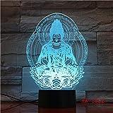 3D Optische Täuschung Nachtlicht Stimmungslampe Motorrad Form USB LED Schreibtisch Tischlampe 7 Farben Blinkende Berührungsschalter Schlafzimmer Dekoration Beleuchtung für Kinder Weihnachtsgeschenk
