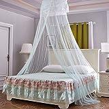 Romantisches rundes Moskito-Zelt für Babys, zum Aufhängen, Kuppelform, für Mädchen, Erwachsene, Grün