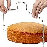 XinLuMing Hochwertige Tortenschicht aus Edelstahl, verstellbar, langlebig, leicht zu reinigen, sehr gut für Heimbäcker geeignet (Color : A)