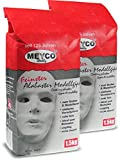 Meyco Alabaster Modelliergips 1,5 kg zum Modellieren & Strukturieren - Hoher Weißheitsgrad - Einfache Verarbeitung - Gips zum Basteln & Gießen weiß
