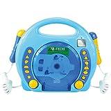 X4-TECH Kinder CD-Player Bobby Joey MP3 blau Vedes