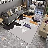VOVTT Teppich Kurzflor Weicher Design, Schlafzimmer Und Die Küche Geeignet,120x160