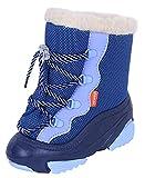 Blaue, gefütterte Winterstiefel Snow MAR DEMAR 26/27 EU