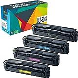 Do it wiser Kompatible Toner als Ersatz für CLT-P504C P504C für Samsung CLP-415N CLP-415NW CLX-4190 CLX-4195FN CLX-4195FW CLX-4195N Xpress C1810W C1860FW (4er-Pack)