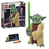 Lego 75255 Star Wars Yoda Bauset, Sammlermodell mit Displayständer, Angriff der Klonkrieger Kollek