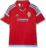 adidas Jungen Rz A Jsy Y Real Zaragoza Team T-Shirt,Rot (Red), 164